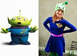 finding bonggamom toy story alien costume