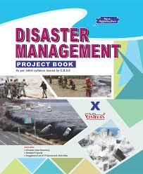 disaster management project book class x cbse 2017 18 vishvas books