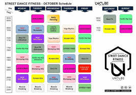 1 day unlimited access pass to street dance fitness uncube studio