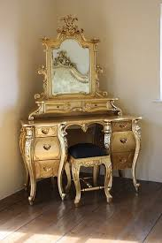 Vintage Style Vanity Table Fabulous Rococo Dressing Table Gold Leaf Rococo Dressing