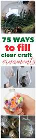 best 25 clear christmas ornaments ideas only on pinterest