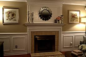 decoration contemporary paint wood paneling decor with fireplace