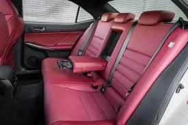 lexus is350 f sport for sale 2015 15 is 350 f sport back seats detail epautos libertarian car talk