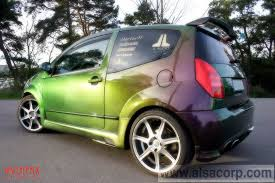 chameleon green car paint auto paint pigmentcar paint color peals