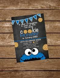 monster invitation cookie monster birthday invite cookie monster invitation