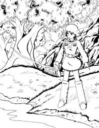 nausicaa ink by ziwu on deviantart