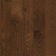 shop bruce oak hardwood flooring sle saddle at lowes com