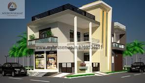 front elevation design modern duplex front elevation design