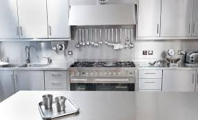kitchen island wall stainless steel commercial kitchen cabinets white cooker