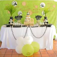 panda bear themed baby shower via kara u0027s party ideas