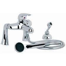 interior bath mixer taps with shower attachment bath mixer tap