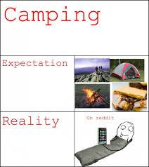 Expectation Vs Reality Meme - cing expectation vs reality meme guy