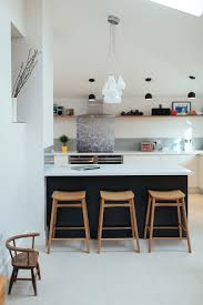Wooden Kitchen by White Pendant Light Black Pendant Light Wooden Kitchen Stools