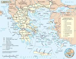 Map Of Greece And Turkey by Greece Road Map