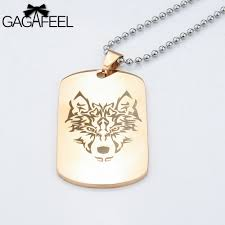 online get cheap customized dog tag necklace aliexpress com