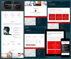responsive web design layout template 15 free amazing responsive business website templates