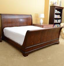 King Size Sleigh Bed Henredon King Size Sleigh Bed Ebth