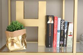 Gold Bookcase Diy Gold Bookshelf House Of Hawkes