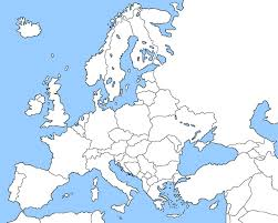 Map Of Eu Blank Map Of Europe By Ericvonschweetz On Deviantart