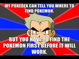 Professor Oak Meme - professor oak memes youtube