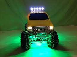 installing led lights in car installing led lights on my tamiya ford f 350 high lift youtube
