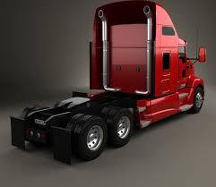 kenworth t660 kenworth t660 tractor truck 2008 3d model hum3d