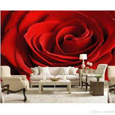 high quality customize size modern red roses flower custom high quality customize size modern red roses flower custom wallpaper fashion decor home decoration for bedroom living room nature wallpaper nature