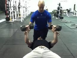 Dumbbell Bench Press Form How To Spot A Dumbbell Press I Can U0027t Believe I Have To Say This