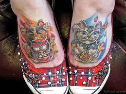 tattoo cat neko 54 sweet cat tattoos on foot