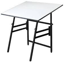 Adjustable Drafting Tables 36x48 Black Professional Folding Adjustable Drafting Table Tilts 0 45