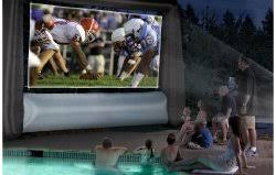 outdoor movie projector screens the urban backyard