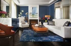 canapé cuir style anglais idée déco salon de style anglais pour atmosphère élégante