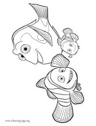 25 finding nemo coloring pages ideas finding