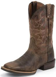 justin s boots sale justin mens 11 silver collection cowboy boots antique brown
