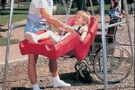 handicap swing fundraiser by ben morris handicap accessible swing for park