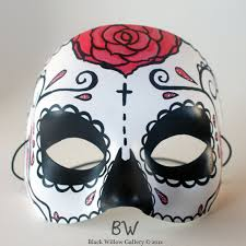 Day Of The Dead Masks I Want One For Halloween Blossom Rose Day Of The Dead Mask Sugar