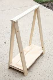 Sawhorse Trestle Desk I Want To Make This Diy Furniture Plan From Ana White Com