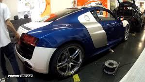 audi r8 tanner braungardt como se desvinila un audi r8 de blanco aperlado glossy car
