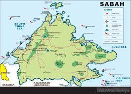 Brunei Map Swimming In Mud Kota Kinabulu To Brunei May 13 30 2012