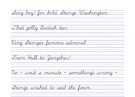 4th grade cursive writing worksheets free worksheets library