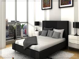 Schlafzimmer Braunes Bett Wohnzimmer Mit Schlafzimmer Unpersönliche Auf Moderne Deko Ideen