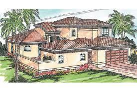 mediterranean guest house plans home deco plans