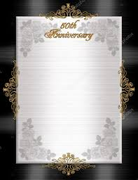 50th anniversary formal invitation u2014 stock photo irisangel 2145227