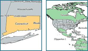 connecticut on map where is connecticut state where is connecticut located in the