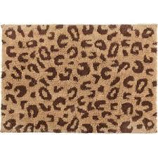 Leopard Bathroom Rugs Vibrant Leopard Print Bath Rugs Pleasing Zara Home Mat Polyvore