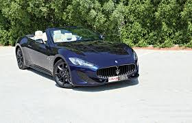 maserati grancabrio sport 2016 maserati grancabrio sport with the trident of neptune arab motor