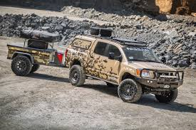 nissan truck titan nissan u201cproject titan u201d truck ready for alaskan adventure u2013 build
