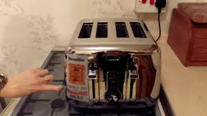 Motorised Toaster Breville 4 Slice Toaster Youtube