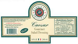 all natural caesar salad dressing harriet u0027s original