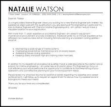 marine engineer sample resume 11 marine engineer cover letter